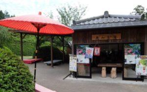 三室戸寺 花の茶屋