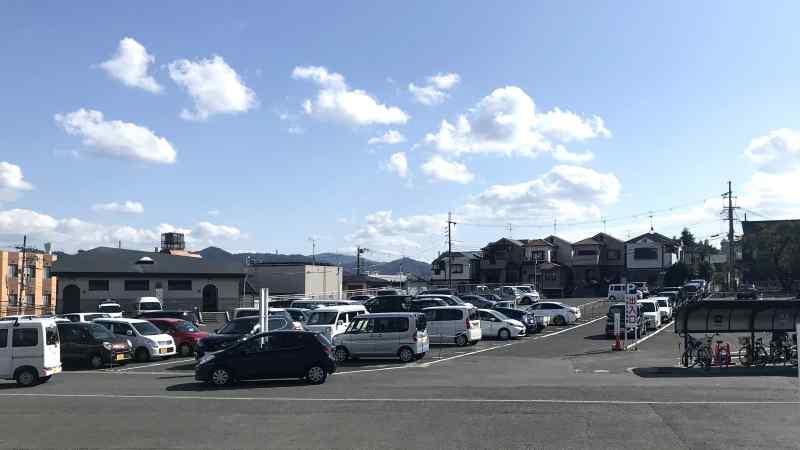 成田山駐車場